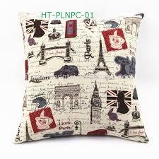 Throws And Cushions For Sofas Christmas Cushions Large Sofa Cushion Custom Linen Print Wholesale