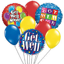 get well soon and balloons get well soon pictures images photos