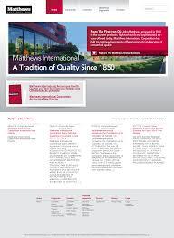 matthews casket company matthews international competitors revenue and employees owler