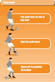 soccer drill to coach drag back skills soccer coach weekly