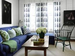 blue and green home decor turn of the century cottage beach style living room chicago