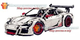 lego technic porsche 911 gt3 rs конструктор lepin 20001b аналог lego 42056 technic porsche 911