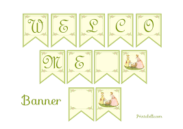free printable baby shower banner template part 31 free