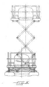 Scissor Lift Hunting Blind Patent Us20050274573 Mobile Hunting Stand Google Patents