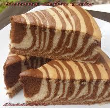 tips membuat bolu zebra diah didi s kitchen cake zebra pisang