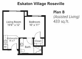 floor plans roseville independent u0026 assisted living eskaton