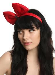 headband with bow studio ghibli s delivery service bow headband hot topic