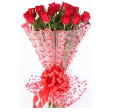 Red Rose Bouquet Flowers Delivery In Nagpur Flowers Delivery In Nagpur