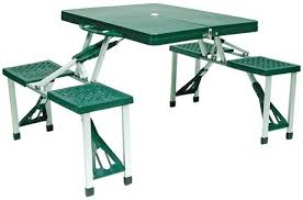 Collapsible Picnic Table World Famous Folding Picnic Table Set Walmart Canada