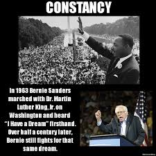 Martin Luther King Meme - martin luther king and bernie sanders imgur