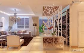 Seperating A Living Room And Dining Room Built In Bookcases And - Living room divider design ideas