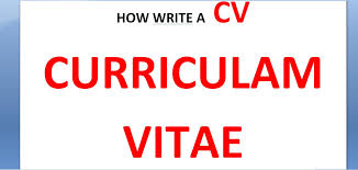 How To Write A Curriculum Vitae Cv How To Write Cv Resume How To by How To Write A Good Cv Youtube