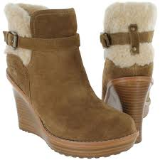 s heeled boots canada ugg s anais wedge boots chestnut mount mercy