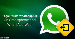 on android how to logout from whatsapp on android iphone and whatsapp web