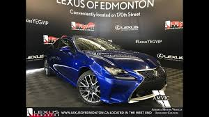 lexus for sale temecula blue 2017 lexus rc 350 f sport series 2 in depth review west