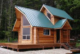 small cabin kit cozy log home the unique roof designs and