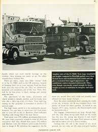 Uncluttered Look Photo August 1978 Freightliner Ad 08 Overdrive Magazine August