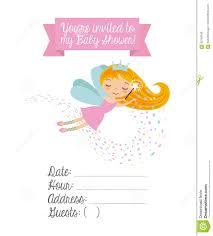 Invitation Cards Baby Shower Baby Shower Invitation Card Stock Illustration Image 83194346