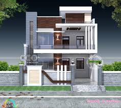 Home Design For 30x60 Plot 5 Bedroom Flat Roof Contemporary India Home Kerala Home Design