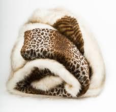 Faux Fur Throw Blanket Faux Fur Throw Leopard Mille Boutique