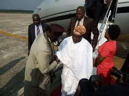 gov okorocha receives obasanjo as he lands in imo 4 imo day of