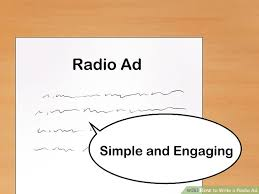 tv commercial script template how to write a radio ad 15 steps with pictures wikihow