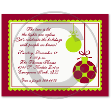 christmas brunch invitations ornament christmas party invitation
