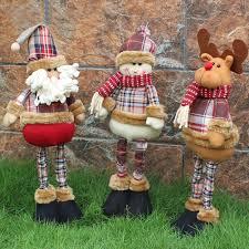 christmas gift santa claus snowman reindeer doll navidad christmas