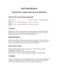pattern matching using awk exles awk introduction pdf programming paradigms computer programming