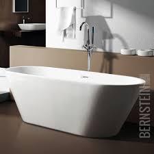 Freistehende Badewanne Freistehende Badewanne Lugano Acryl Weiß 170x74 Inkl Ab überlauf