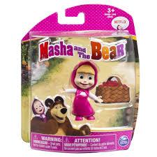 spin master masha u0026 bear classic masha figure