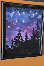 add lights to your painting to make it dazzle