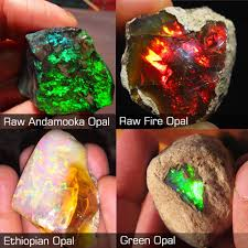 green opal types of opal with photos