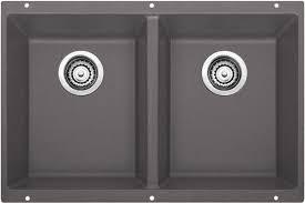 Two Bowl Kitchen Sink by Blanco Precis 29 75