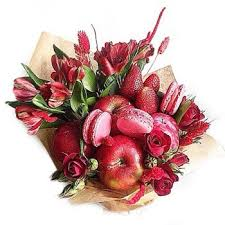 edible bouquet send fruits and flowers edible bouquet to moscow russia