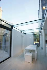 372 best ideas for the house images on pinterest extension ideas structural frameless glass roof on residential extension by iq glass ark
