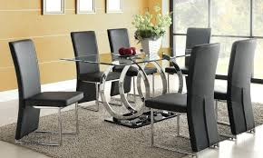 Glass Dining Room Table Set Glass Dining Room Tables And Chairs Creative Of Modern Glass