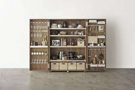 walnut storage cabinet for kitchen tool cabinet bulthaup