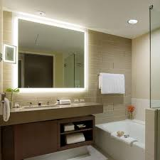 silhouette lighted mirror sil by electric mirror yliving