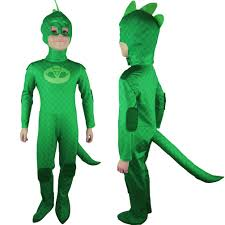 halloween costume kids pj masks gekko greg cosplay costume halloween costume christmas