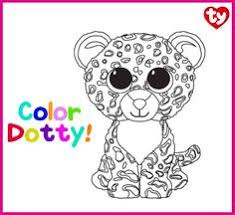 print flips beanie boo coloring pages embroidery patterns