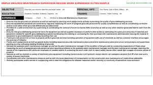 Warehouse Supervisor Resume Samples Autism Cover Letter Examples Benjamin Franklin Chess Essay 20
