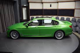 java green bmw new alpina b7 dipped in java green metallic is umm different