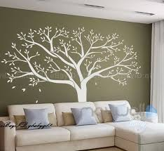 tree wall decals wall shelves