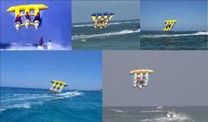 gommone volante gonfiabile volante piu imbarcazione open con motore da 40 cv