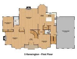 premier design custom home project kensington court mendham 1st