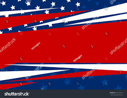 American Flag Design Vector Abstract Background American Flag Design Stock Vektorgrafik