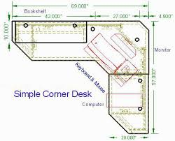 woodworking plans build in desk