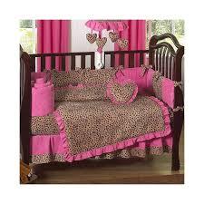 Cheetah Print Crib Bedding Leopard Print Crib Bedding