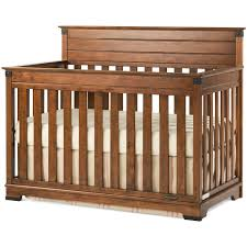 Rustic Convertible Crib by Child Craft Redmond 4 In 1 Convertible Crib Cherry Walmart Com